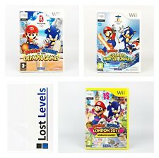 Wii - Mario & Sonic Olympic Games - Choose your title -*Multi Listing*
