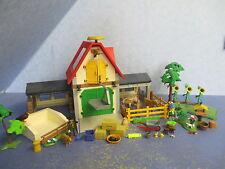 4490 Bauernhof  Country  Zaun Bäume Tiere zu 6120 Playmobil 9185