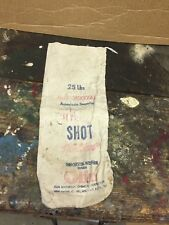 Empty Olin Winchester Western 25 Pound 7 1/2 Chilled Shot Bag FREE SHIPPING..!!