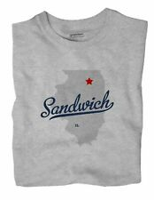 Sandwich Illinois IL Ill T-Shirt MAP