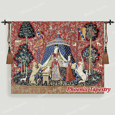 The Lady & Unicorn Medieval Fine Art Tapestry Wall Hanging - DESIRE (Large), US