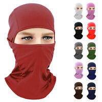 Balaclava Cycling Motorcycle Motorbike Under Helmet Head Cover Hat Headwear