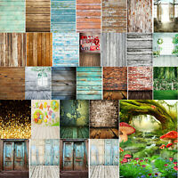 Studio Photo Photography Backdrop Wood Wall Floor Background for Parties Room