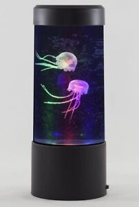 LED Jellyfish Aquarium Light Fish Tank Colour Changing Lighting - Batteries Incl