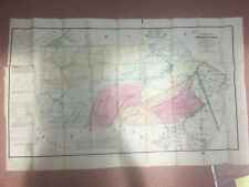 1875 HISTORICAL MAP OF PENNSYLVANIA 26 x 41 1/2 inches