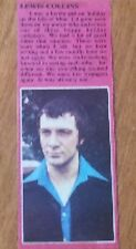 Lewis Collins Bodie The Professionals Article meeting a girl on the Isle of Man