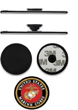 Pull Up Holder Expanding Stand Hand Grip Mount US Marine Sticker
