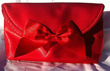 POCHETTE  - TROUSSE - YVES ST LAURENT PARFUMS -  ROUGE - RED - VINTAGE