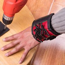 Banda De Pulsera Magnética Cinturón Muñequera brazalete herramienta de bolsillo