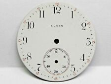 Antique Elgin Pocket Watch Porcelain Dial in good condition 37.5 mm.