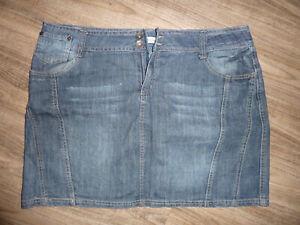 Damen Jeans Rock Mini Größe 44 XL