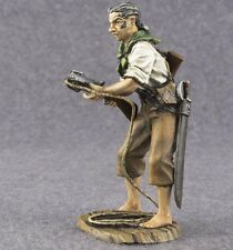 Tin Soldier Toy Pirate Painted Medieval miniature 1/32 scale Metal 54mm Figure