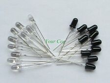 10 X IR Pairs, Photo Diodes & IR LEDs (10 pieces each) , 5mm...