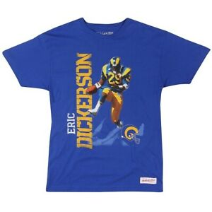 Eric Dickerson Los Angeles Rams Mitchell & Ness Photo Real T-shirt Plus Sizes