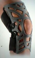 Donjoy Reaction Web Knee Brace Gray Size XL w/sleeve