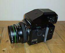 Bronica ETRS Xpan alternative 75mm f2.8 lens, 135 W film back panoramic 135W