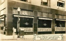 New Location of the Restaurant in the Morris Plan Building, Dubuque IA RPPC