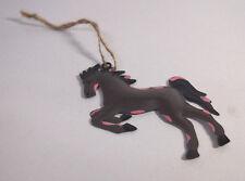 THIN METAL Horse Christmas Decoration Ornament