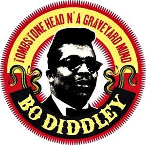 "Bo Diddley 1""  Badge 25mm Blues Legend Rock n Roll Daniels guitar"