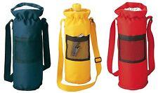 Borsa termica porta bottiglia nylon più tasca a rete e tracolla diam. 11,5/32