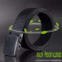 le nylon taille des ceintures les militaires pom boucle en plastique