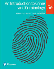 NEW An Introduction to Crime and Criminology By Hennessey Hayes Paperback