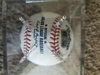 NEW Original Autograph SIGNED MLB BASEBALL with Box and Stand