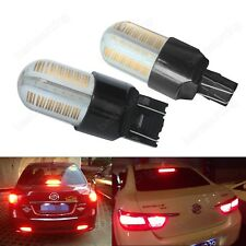 T20 7443 580 582 W21W W21/5W 7440 COB 8 SMD LED Tail Stop Brake Light Bulbs Red
