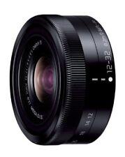 New Panasonic LUMIX G VARIO 12-32mm F3.5-5.6 ASPH./MEGA O.I.S lens Black Japan