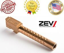 NEW ZEV Tech GLOCK 17 9mm Luger Match Grade Drop-In Barrel Bronze BBL-17-D-BRZ