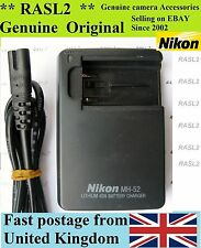 Genuine Original NIKON MH-52 Charger, EN-EL1,coolpix 880 885 995 4300 4500 E800