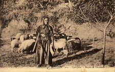 CORSE - VENZOLASCA - LA BERGERE  - VERSO CACHET CAURO CORSE LE 4-3-1929.