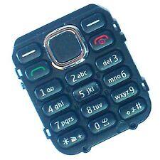 100% Original Nokia C1-02 vordere tastatur kennzeichen knöpfe tasten Schwarz C1