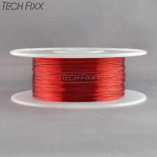 Magnet Wire 28 Gauge AWG Enameled Copper 4000 Feet Coil Winding 155C Red