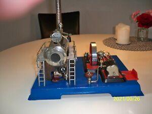 Modellbau Dampfmaschine Wilesco Typ D 20