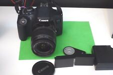 Canon EOS 750D 24MP Camera  + Charger + 2 batteries + 18-55mm IS+remote controle