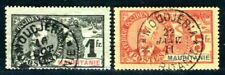 MAURITANIE 1906 Yvert 14,16 gestempelt schöne HÖCHSTWERTE (C3274
