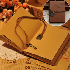 Vintage Retro Leather Note Book Journal Travel Notepad Diary Memo Hand Notebook