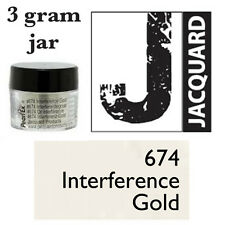 Pearl Ex Mica Powdered Pigments - 3g bottles -INTERFERENCE GOLD 674