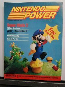 Nintendo Power Premiere Issue 1988. Complete W/ Zelda Poster intact.