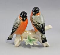 Porzellan Figur Ens Vogel Thüringen Gimpel-Paar 21x18cm 9941110