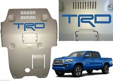 Azure Blue Premium Vinyl TRD Skid Plate Inserts For 2016-2017 Toyota Tacoma New