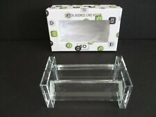 Simon Designs Crystal Business Card Holder New In Box
