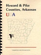 AR Howard & Pike County 1890 Goodspeed Arkansas History Nashville Murfreesboro