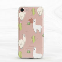 Cactus Llama Alpaca Nature Animal Case For iPhone 6S 7 8 Xs XR 11 Pro Plus Max