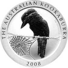 1 Oz Argent Kookaburra 2008 1 UA dollars 999 Silver