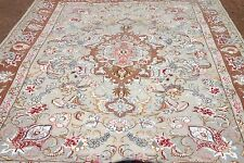 Persian Tabrizz silk and wool handmade hand knotted rug 160 x 100 cm