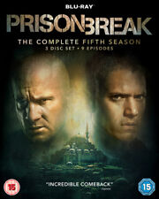 Prison Break: The Complete Fifth Season DVD (2017) Wentworth Miller cert 15 3