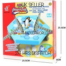 BRAND NEW SAVE THE PENGUIN FAMILY BOARD GAME XMAS GIFT ,RAFFLE TOY