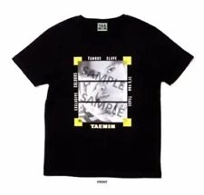 TAEMIN SHINee POP UP STORE Limited Official Goods TAEMIN Black T-Shirt M size